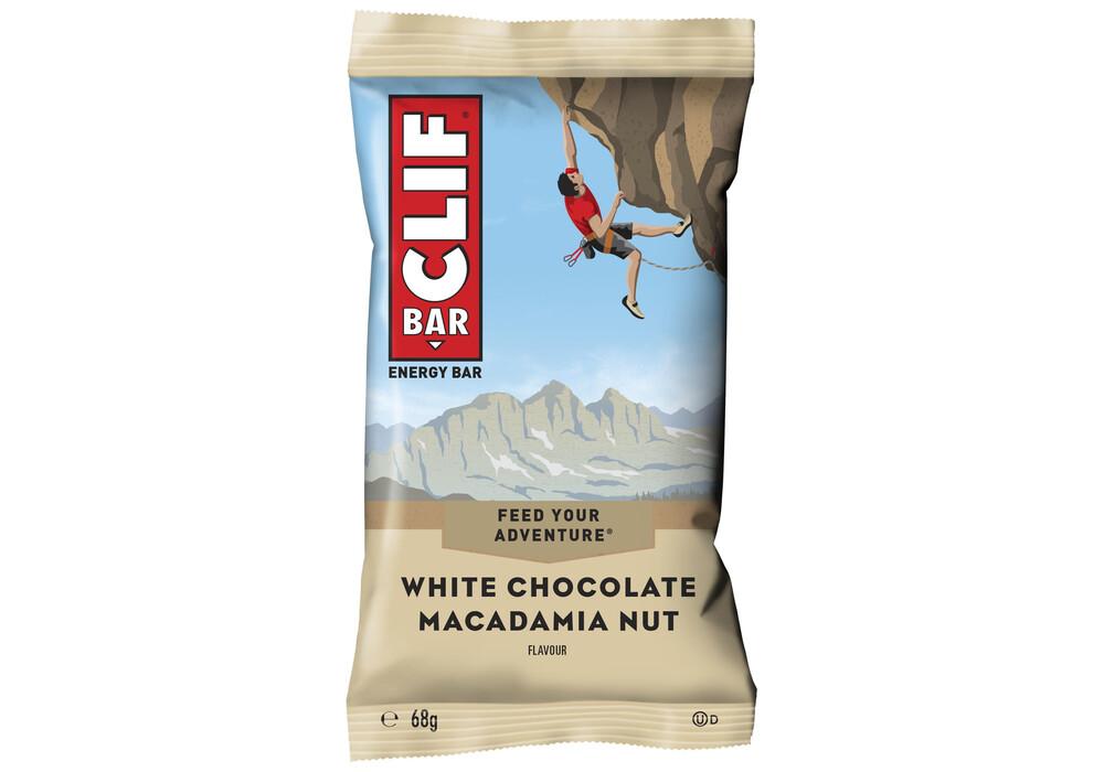 Clif Bar White Chocolate Macadamia Nut Nutrition